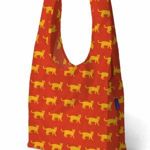 Bolsa BAGGU Standard (Roja con Animal Print)