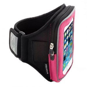 Brazalete para Smartphone Sporteer (Rosado)