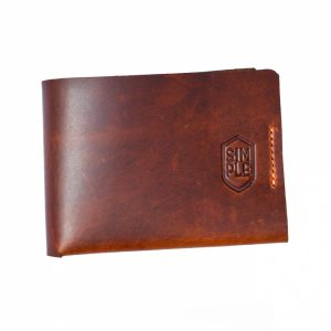 Slim wallet Simple (Café)