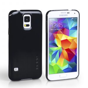 Funda para Samsung Galaxy S5 Incipio Feather Case (Negro)