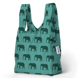 Bolsa Baby BAGGU (Jade con Animal Print)