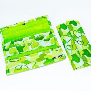 Billetera Juvenil Corazón Verde