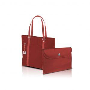 """Bolso de Dama para Laptop de hasta 15.4"""" marca Klip Xtreme color Rojo"""