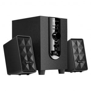 Bocinas para Computadora con Bluetooth KES-345 marca Klip Xtreme color Negro