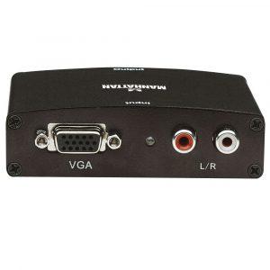 Convertidor Manhattan VGA a HDMI