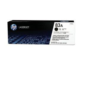Tóner para Impresora HP LaserJet 83A  CF283A  color negro