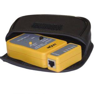 Probador de Cables de Red Color Amarillo Marca Nexxt