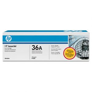 Toner Hp Para impresora LJ1505 CB436A Negro