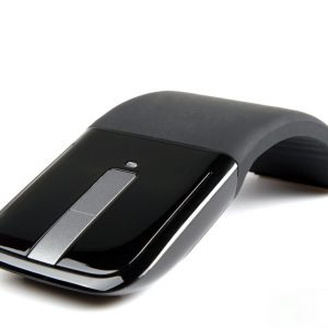 Mouse Inalambrico Microsoft Arc Touch Flexible Color Negro