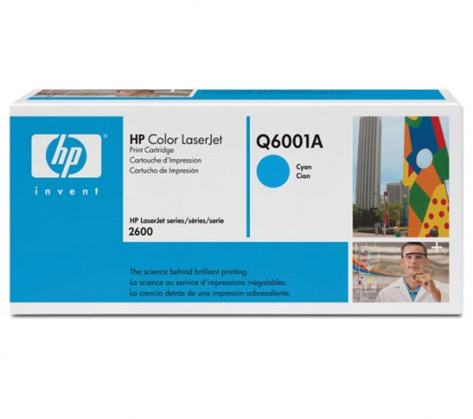 Toner HP Q6001 Cyan