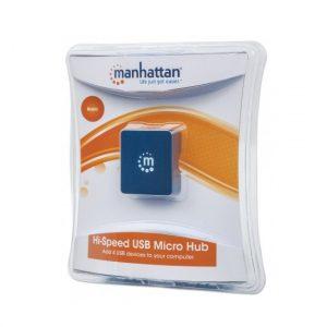 Hub USB Manhattan 4 puertos USB 2.0