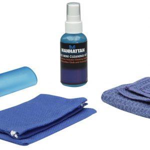 Kit de limpieza Manhattan para LCD 60ml cepillo + toalla