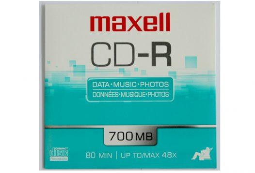 Unidad de CD-R Maxell 700MB