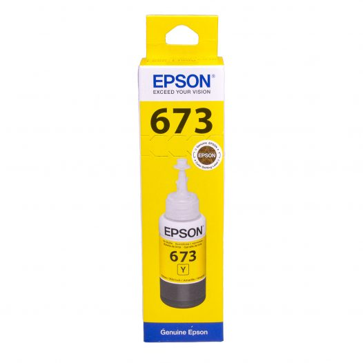 Botella de Tinta Epson 673 Amarillo (Refill)