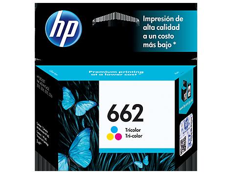 Cartucho HP 662 Color