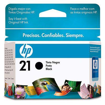 Cartucho HP 21 Color Negro