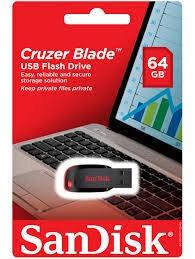 Memoria USB Sandisk Cruzer blade z50 64gb