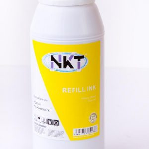 Refill de tinta NKT 500ml color amarillo