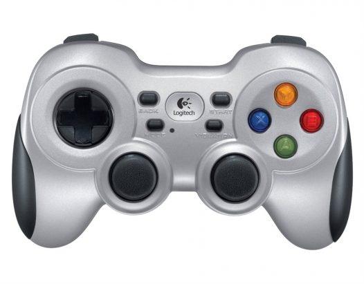 Control Inalámbrico Logitech F710 2.4GHZ con vibración 10 botones