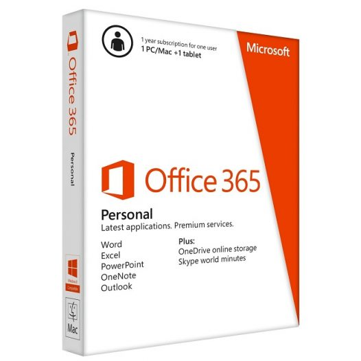 Office 365 personal 1 año 1 PC/MAC ESD