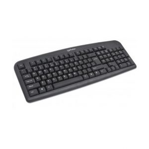 Teclado USB Manhattan en ingles color negro