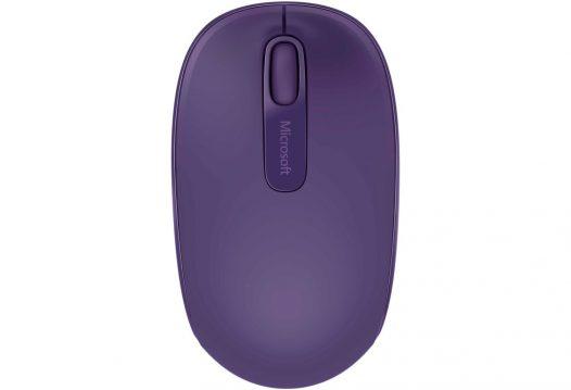 Mouse Inalámbrico Microsoft 1850 Color Purpura