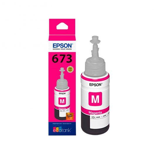 Botella de Tinta Epson 673 Magenta