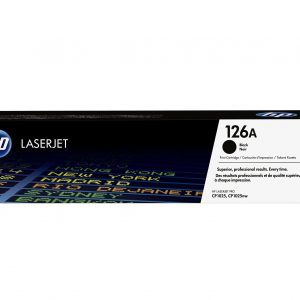 Toner HP CE310A  #126A Color negro