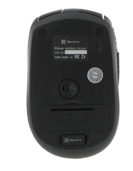 Klip Xtreme Mouse Inalambrico KMW-340 Color Negro