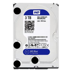 "Disco Duro Interno para Desktop  3.5"" 3TB Western Digital  Blue"