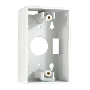 """Caja de Montaje Superficial de Red de 4"""" x 2"""" Color Blanco Marca Nexxt"""