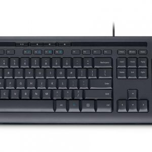 Teclado alámbrico Microsoft 600 en español color negro