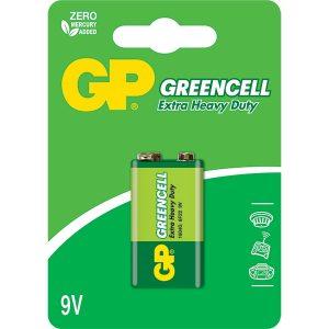 Batería 9V Greencell Carbón Marca GP
