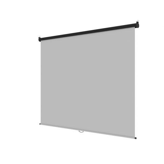 Pantalla de Proyección de 86 Pulgadas tipo Colgante para Techo o Pared de marco Blanco marca Klip Xtreme