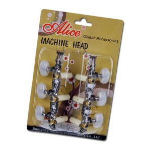 Clavija Alice para Guitarra Acústica Fabricadas de Nickel