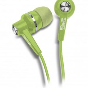 Audifonos Klip Xtreme KSE-105 3.5mm Color Verde