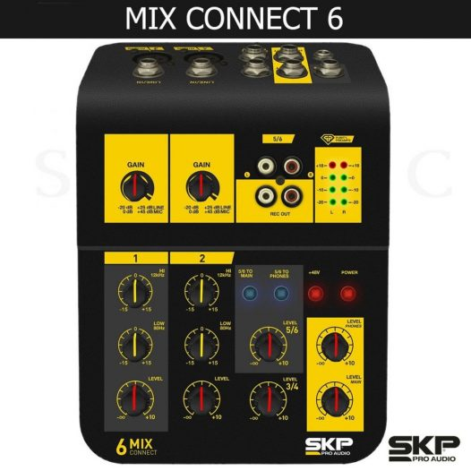 Consola Mix Skp 6 Canales