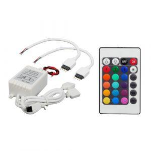 Controlador Pipedream P/Tiras Led Y Control Remoto