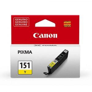 Cartucho Canon CLI-151 Amarillo