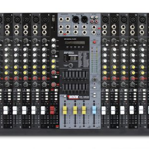 Consola Novik 16 canales MP3/USB/SD
