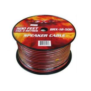 Cable XXX para bocina calibre 12, 500' N/R