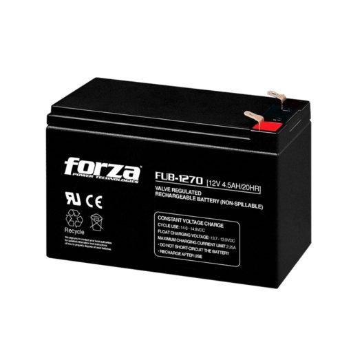 Batería para UPS 12V 7AH marca Forza FUB-1270