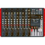 Consola amplificada Novik 600W 8 canales, MP3/USB 8 OHMS