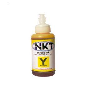 Refill de tinta Nkt para Epson serie L Color Amarillo