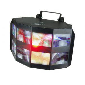 Luz LED RGB Doble Derby DMX marca Zebra