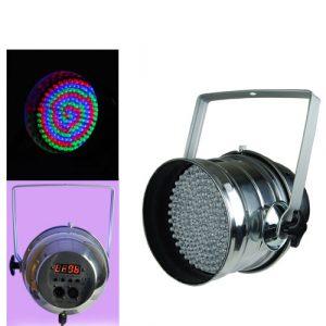 Luz Led Zebra par 64 DMX512 110V/60Hz 50W
