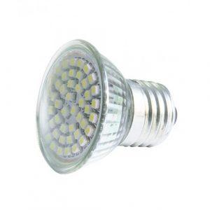 Lampara de halogeno Mitzu 48Led, 110-130V 3W blanca