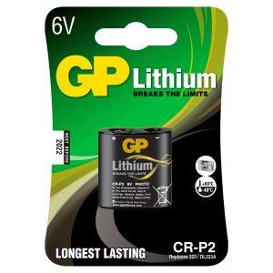 Batería CR-P2 6V de Litio Marca GP
