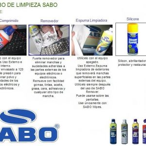 Combo Sabo limpieza externa plus