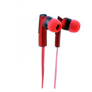 Audifonos Klip Xtreme KHS-220 3.5mm Color Rojo con Negro